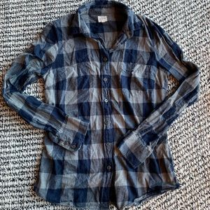 J.Crew Flannel Button-Up Shirt